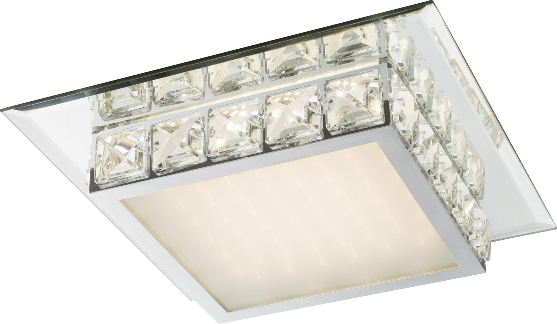 Deckenleuchte   Chrom   Glas opal   Globo Lighting   Leuchten   Lampen   online kaufen
