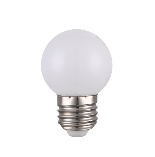 LED LEUCHTMITTEL NICKEL MATT, 1XE27 LED