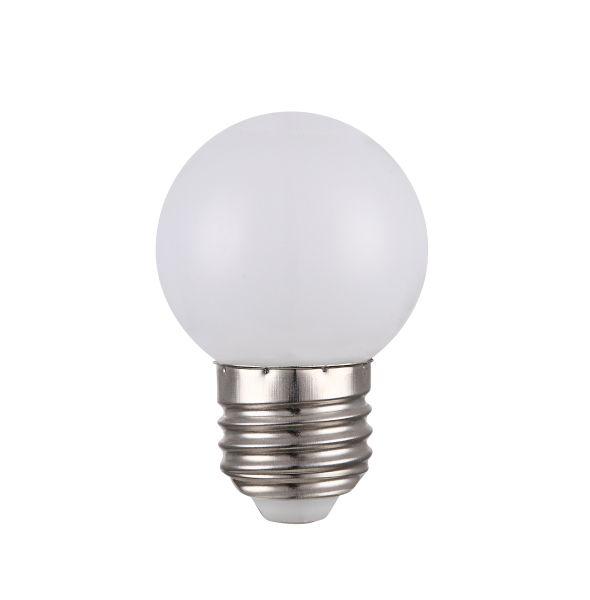 LED LEUCHTMITTEL NICKEL MATT, 1XE27 LED