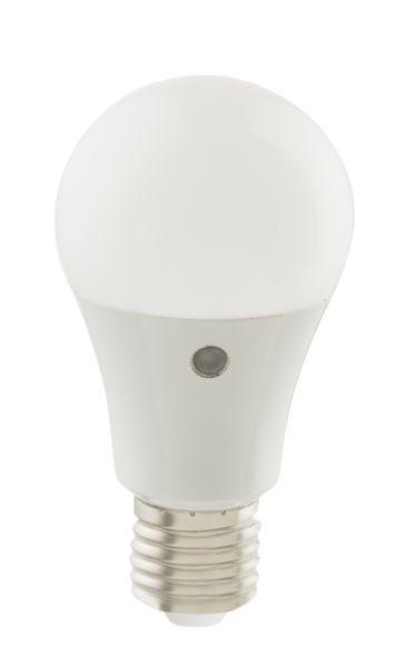 LED LEUCHTMITTEL ALUMINIUM NICKEL MATT, 1XE27 LED