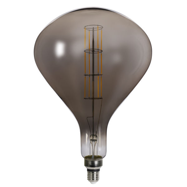 LED LEUCHTMITTEL METALL MESSINGFARBEN, 1XE27 LED