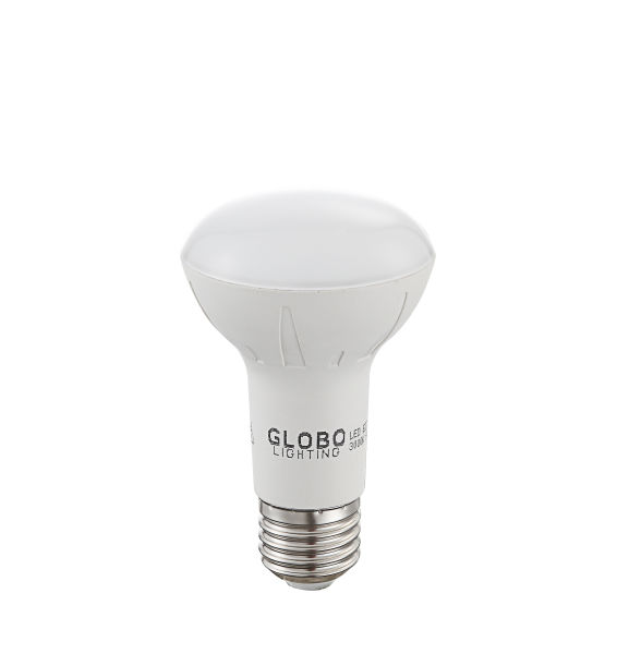 LED LEUCHTMITTEL ALUMINIUM, 1XE27 R63