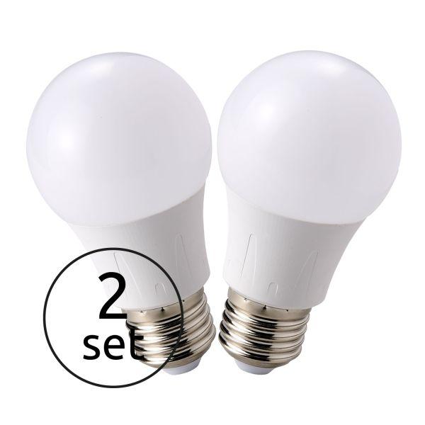 LED LEUCHTMITTEL ALUMINIUM, 2XE27 LED