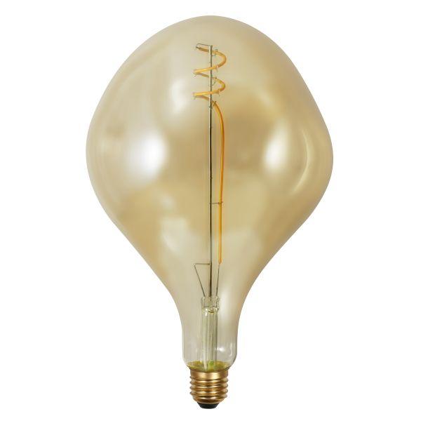 LED LEUCHTMITTEL METALL, 1XE27 LED