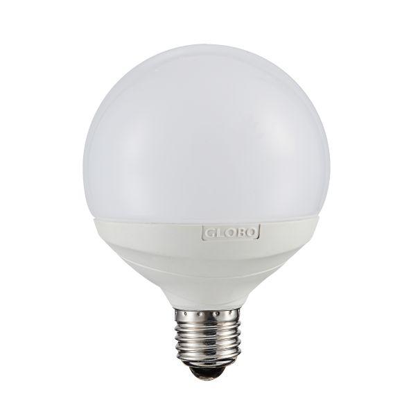 LED LEUCHTMITTEL SILBER METALLIC, 1XE27 LED