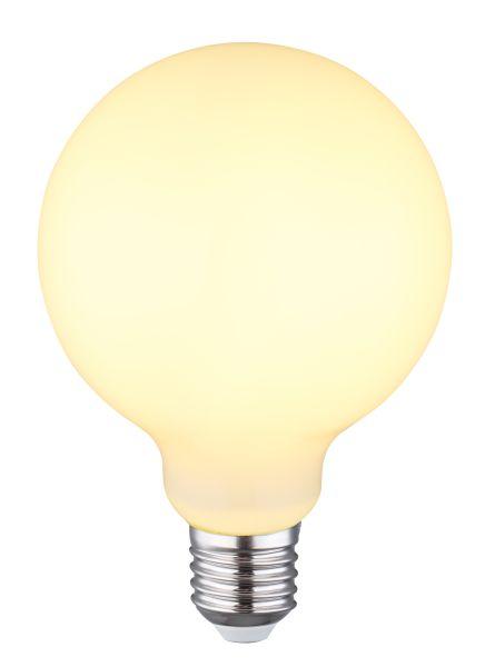 LED LEUCHTMITTEL GLAS OPAL, 1XE27 LED