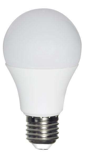 LED LEUCHTMITTEL KUNSTSTOFF WEIß, 1XE27 LED