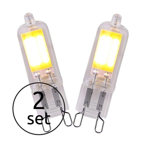 LED LEUCHTMITTEL GLAS KLAR, 2XG9 LED